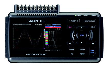 Datalogger Graphtec GL220