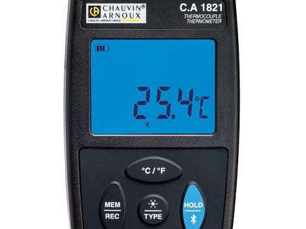 Termómetro registrador Chauvin-Arnoux CA1821