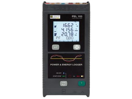 Chauvin-Arnoux PEL103 Registrador de Potencia y Energía