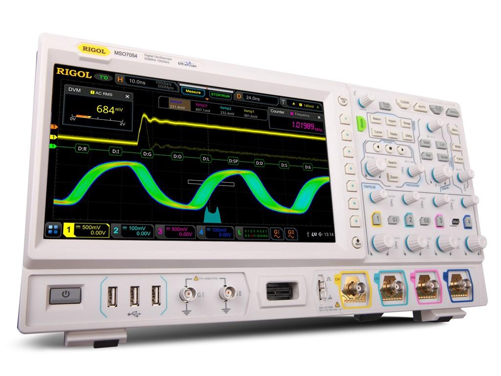 Osciloscopios Rigol MSO/DS7000