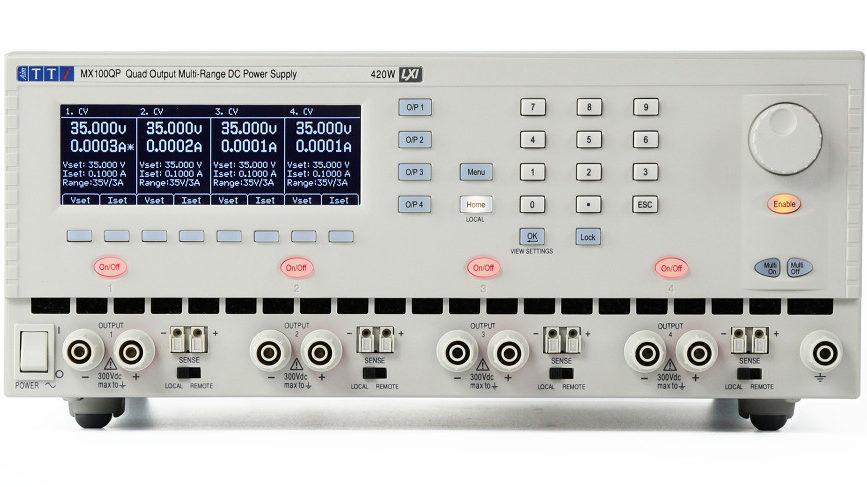 Aim-TTi MX100Q DC PSU 4 salidas