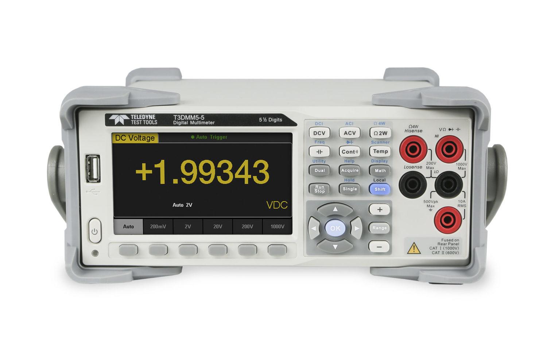 Teledyne T3 DMM5 Multímetro 5 1/2 dígitos
