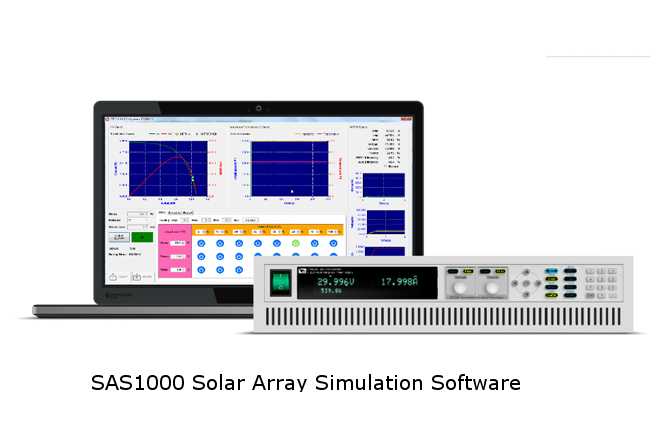 ITECH SAS1000 Solar Array Simulation Software