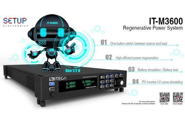ITECH IT-M3600 Regenerative Power System